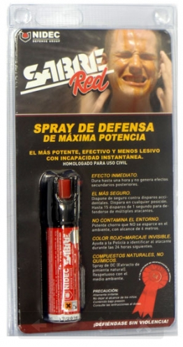 ESPRAY DEFENSA SABRE RED 22 ml
