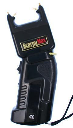 DEFENSA ELECTRICA SCORPY MAX 500KV + SPRAY PIMIENTA