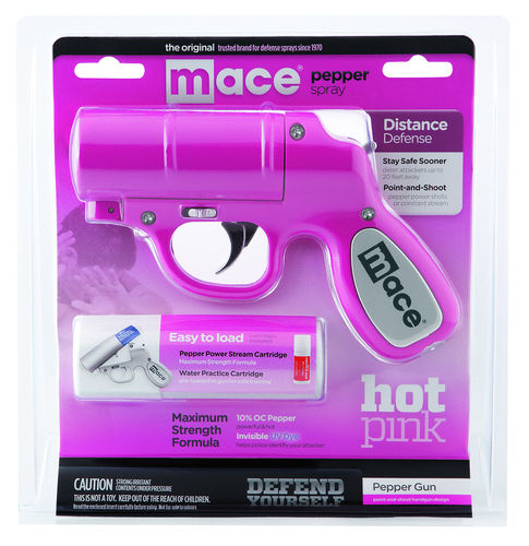 Mace Pepper Gun - Hot Pink