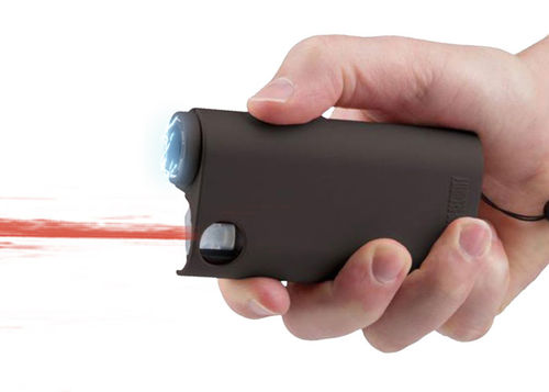 ELECTRIC PARALYZER WITH PEPPER SPRAY